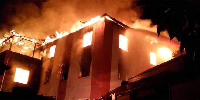 Yurt yangını faciasında tahliye kararı