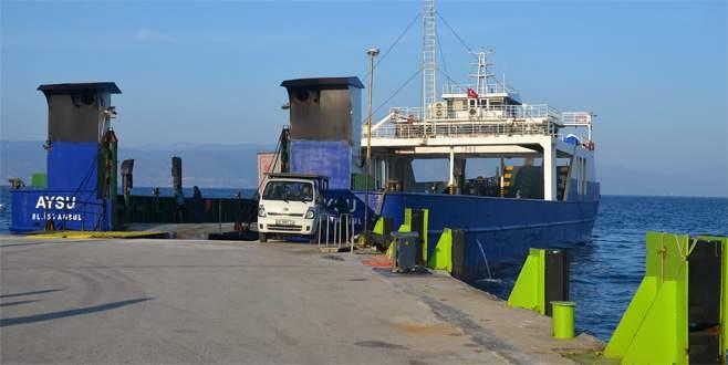 Mudanya-Ambarlı arası RO-RO seferleri başladı