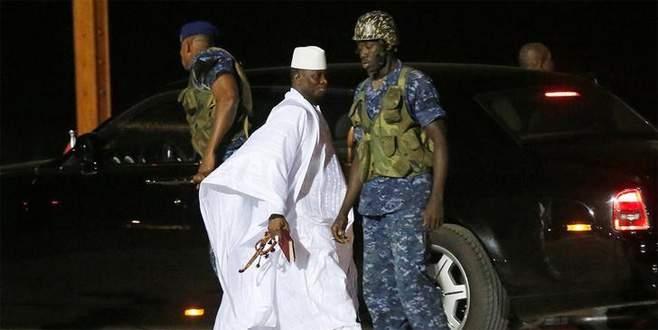 Jammeh 11 milyon doları da götürmüş