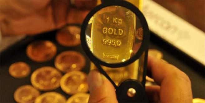 Altının onsu 2 ayın en yükseğini gördü