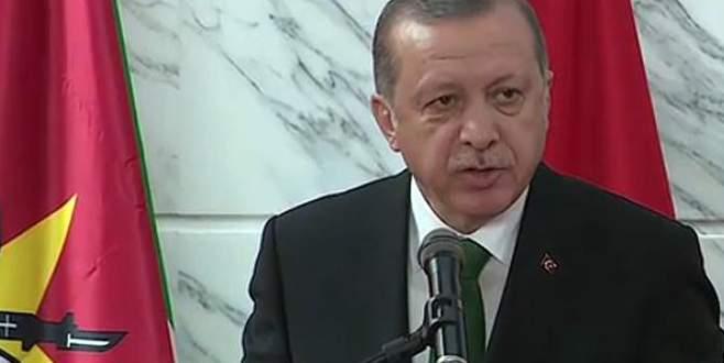 Erdoğan: FETÖ ile mücadeleyi de konuştuk