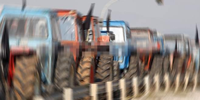 Komşuda çiftçi isyanı