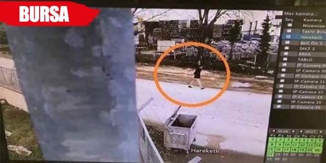Oto faresi güvenlik kameralarına takıldı
