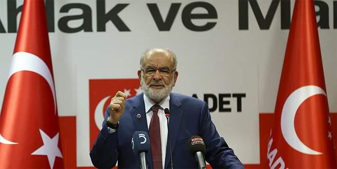 Saadet Partisi Genel Başkanı'ndan referandum açıklaması