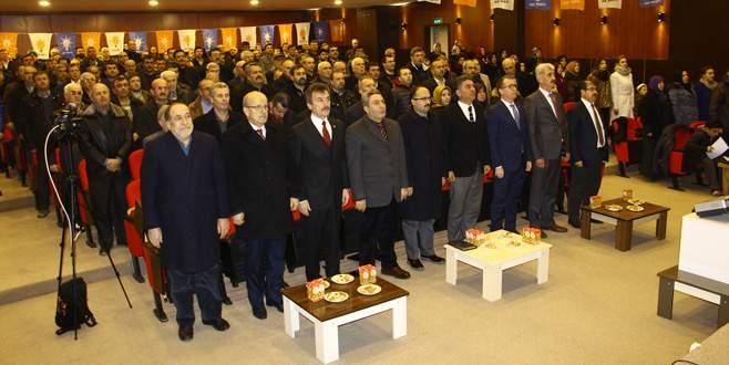 Yenişehir AK Parti'de Danışma Meclisi toplandı
