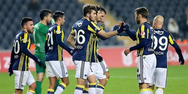 Fenerbahçe Amedspor'u rahat geçti