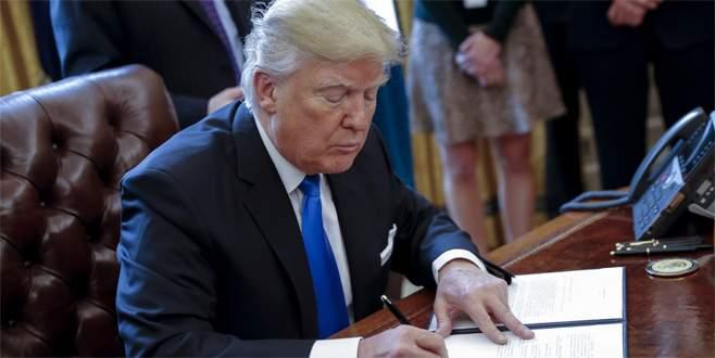 Trump Meksika sınırına duvar inşa edilmesini onayladı