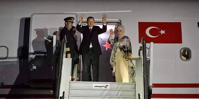 Cumhurbaşkanı Erdoğan yurda dönüyor