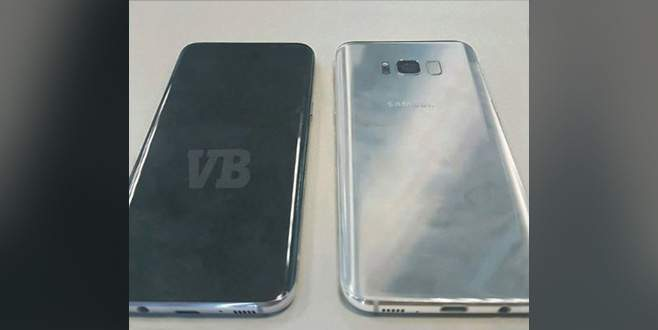 Samsung Galaxy S8'in fotoğrafı sızdı