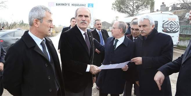İzmir yoluna yeni kavşak