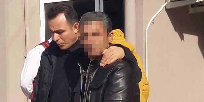 Öz kızına tecavüz suçlamasıyla tutuklandı