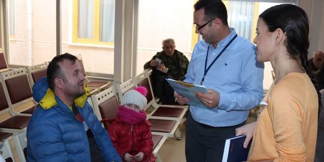 Dörçelik Hastanesi'nde hak koruma ekibi kuruldu