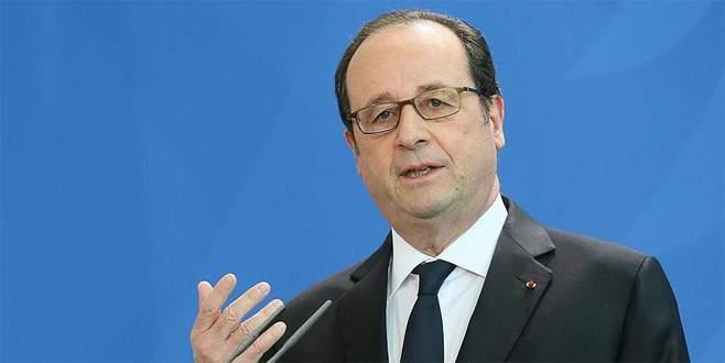 Hollande: Trump'a güçlü bir yanıt vermemiz lazım