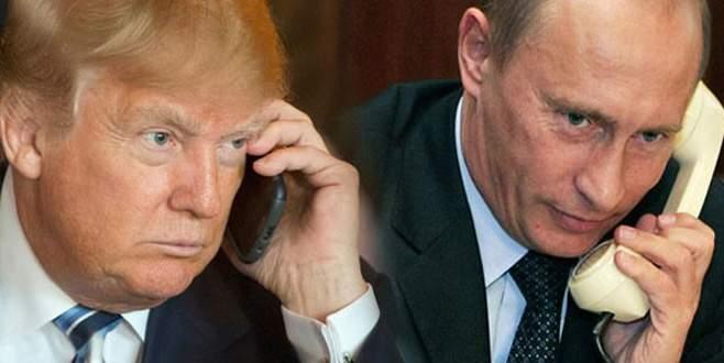 Trump ile Putin bir telefon görüşmesi gerçekleştirdi