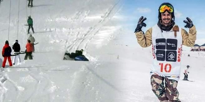 Uludağ'daki kahraman snowboardcu o anları anlattı