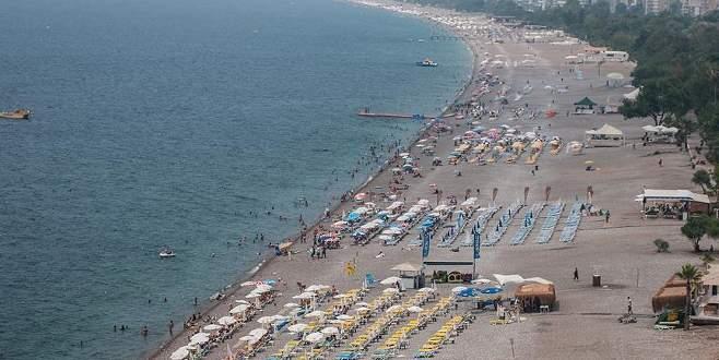 Türkiye'nin turizm geliri yüzde 29,7 düştü