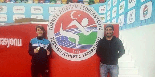 Osmangazili atletler madalyaya doymuyor