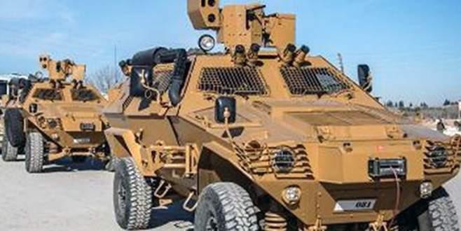 ABD'den YPG öncülüğündeki SDG'ye zırhlı araç