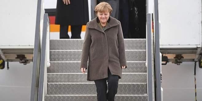 Merkel yarın Türkiye'ye gelecek
