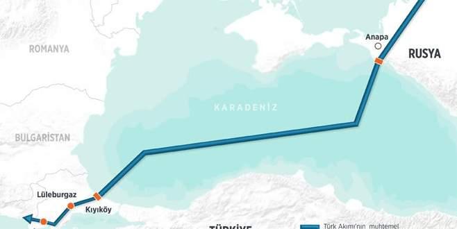 Türk Akımı'na onay