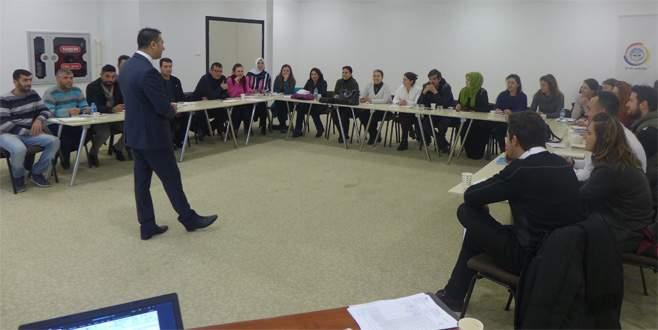 Karacabey TSO'da Girişimcilik Eğitimi