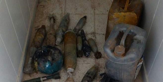 Nusaybin'de çok sayıda patlayıcı ve mühimmat ele geçirildi