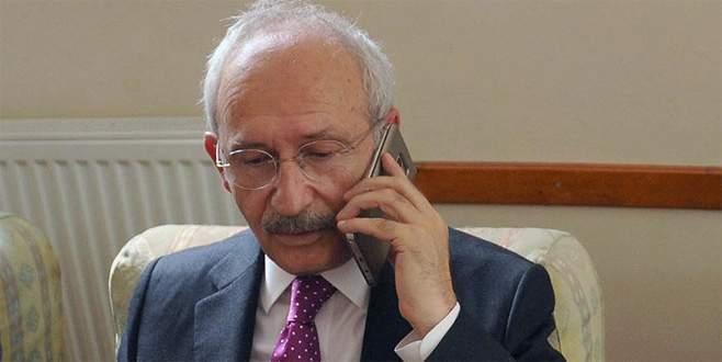 Kılıçdaroğlu'ndan Sancaklı'ya taziye telefonu