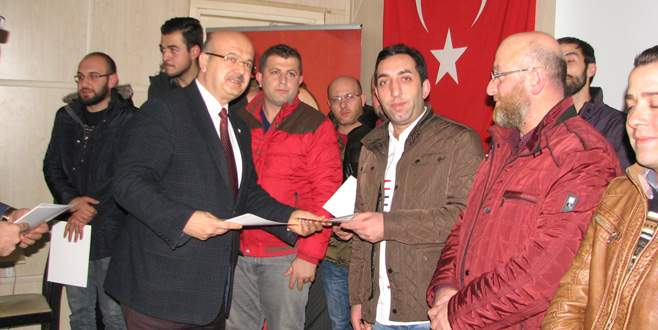 Kestel AK Parti'de Danışma Meclisi toplantısı