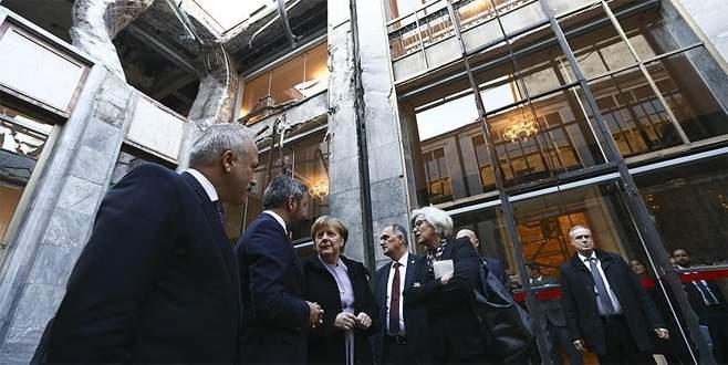 Merkel'den TBMM'ye ziyaret