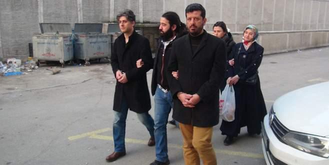 Bursa'da FETÖ'den ihraç edilen 4 kişi adliyeye sevk edildi