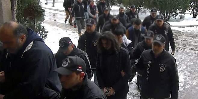 Yurt genelinde aranan bin 848 şüpheli yakalandı