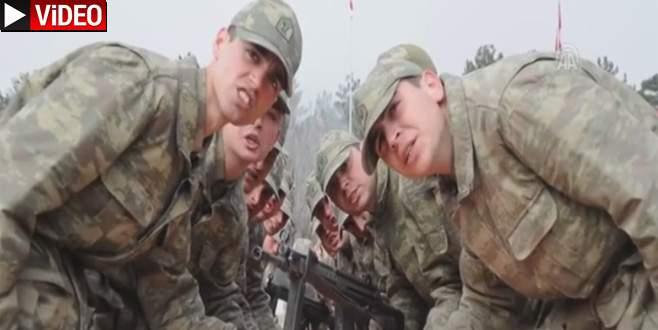 TSK'dan 'Kahraman Mehmetçik' videosu