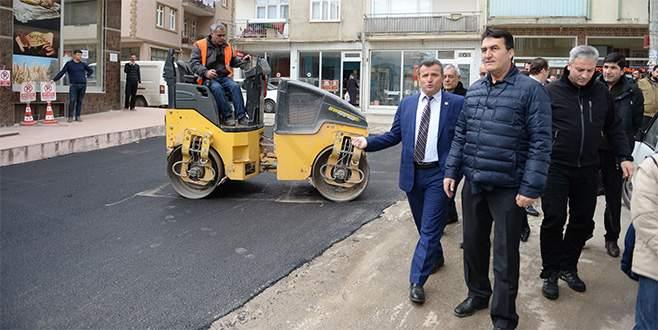 Osmangazi Belediyesi asfalt sezonunu açtı