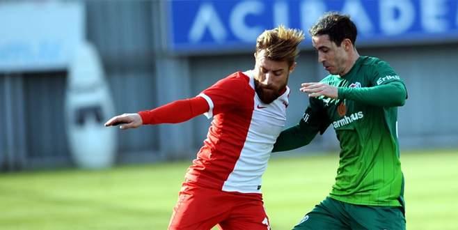 Bursaspor Balıkesirspor'u 1-0 yendi