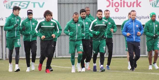 Bursaspor tempo düşürmüyor