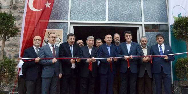 'Bakan Müezzinoğlu Abdal Kültür Merkezi'ni açtı'