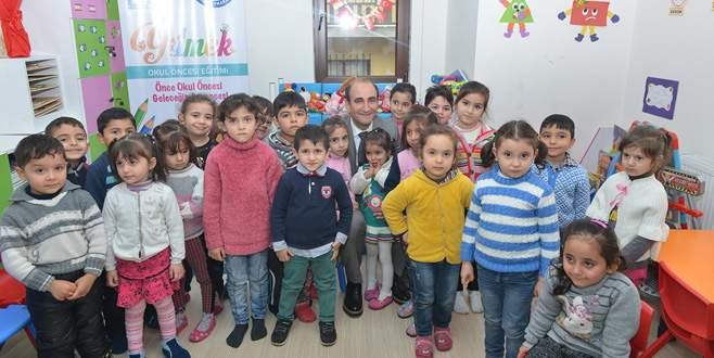 Çocuklar geleceğe Yıldırım'da hazırlanıyor