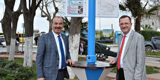 Belediyeden ücretsiz şarj istasyonu