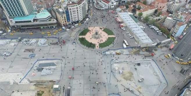 Taksim'de camiye onay çıktı