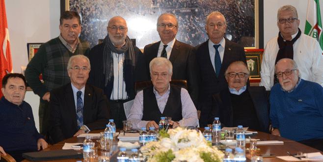 Bursaspor Vakfı ilk kez toplandı!