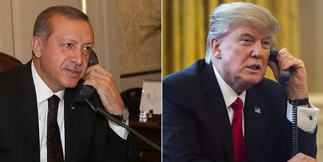 Erdoğan'dan Trump'a: 'PYD/YPG'ye destek vermeyin'