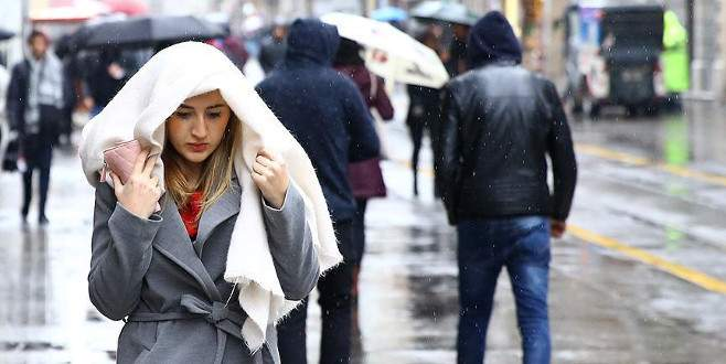 Dİkkat! Soğuk ve yağışlı hava yolda
