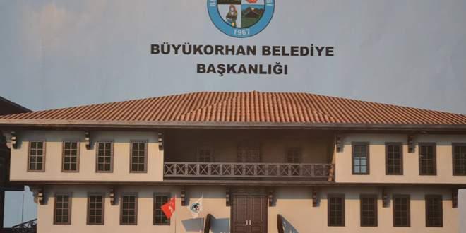 Büyükorhan Belediyesi'ne yeni hizmet binası
