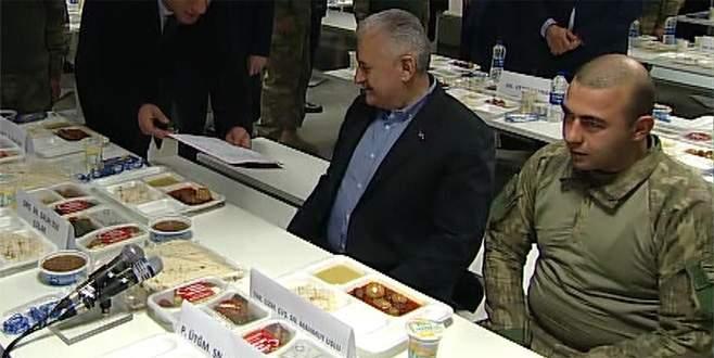 Fırat Kalkanı şehidi Başbakan Yıldırım ile yemek yemişti