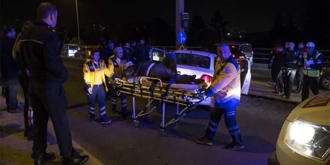 Trafik kazasında ağır yaralandı, hastaneden kaçtı