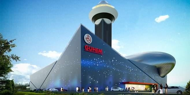 Bursa'ya uzay üssü
