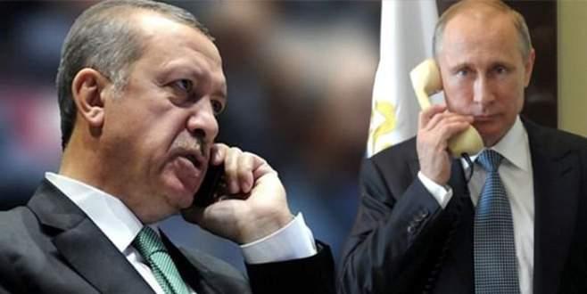 Cumhurbaşkanı Erdoğan, Putin'le Suriye'yi görüştü