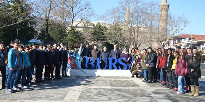 Batmanlı gençler Bursa'ya hayran kaldı