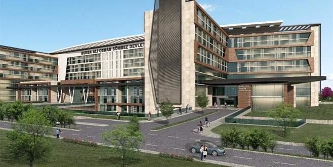 Bursa'da otel konforundaki yeni hastanede inşaat başladı