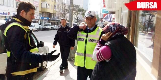 Polisler zor ikna etti